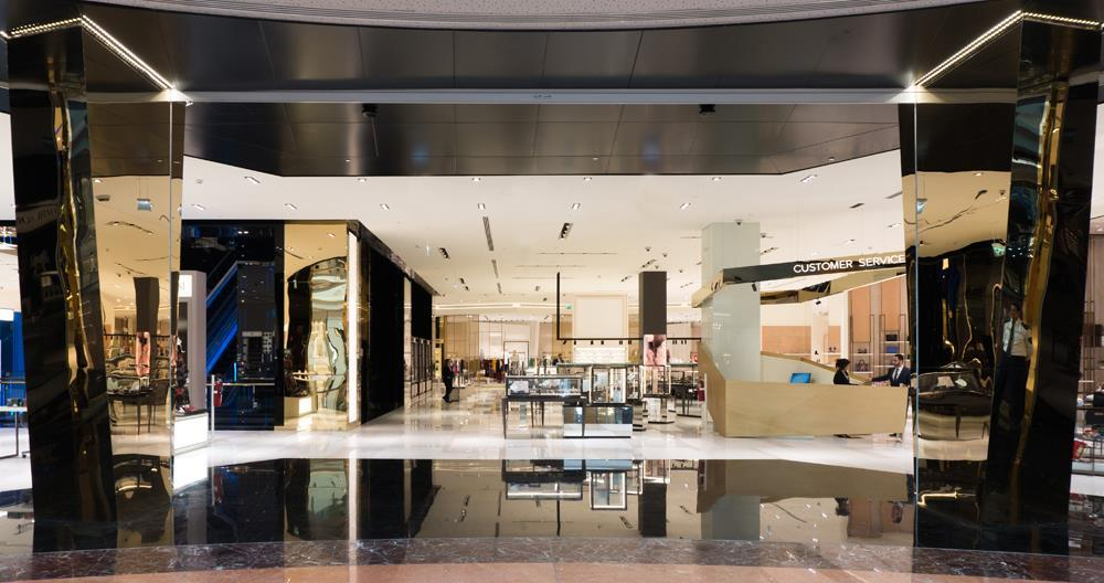Salam Department Store - Mall of Qatar - Porcelain tiles and