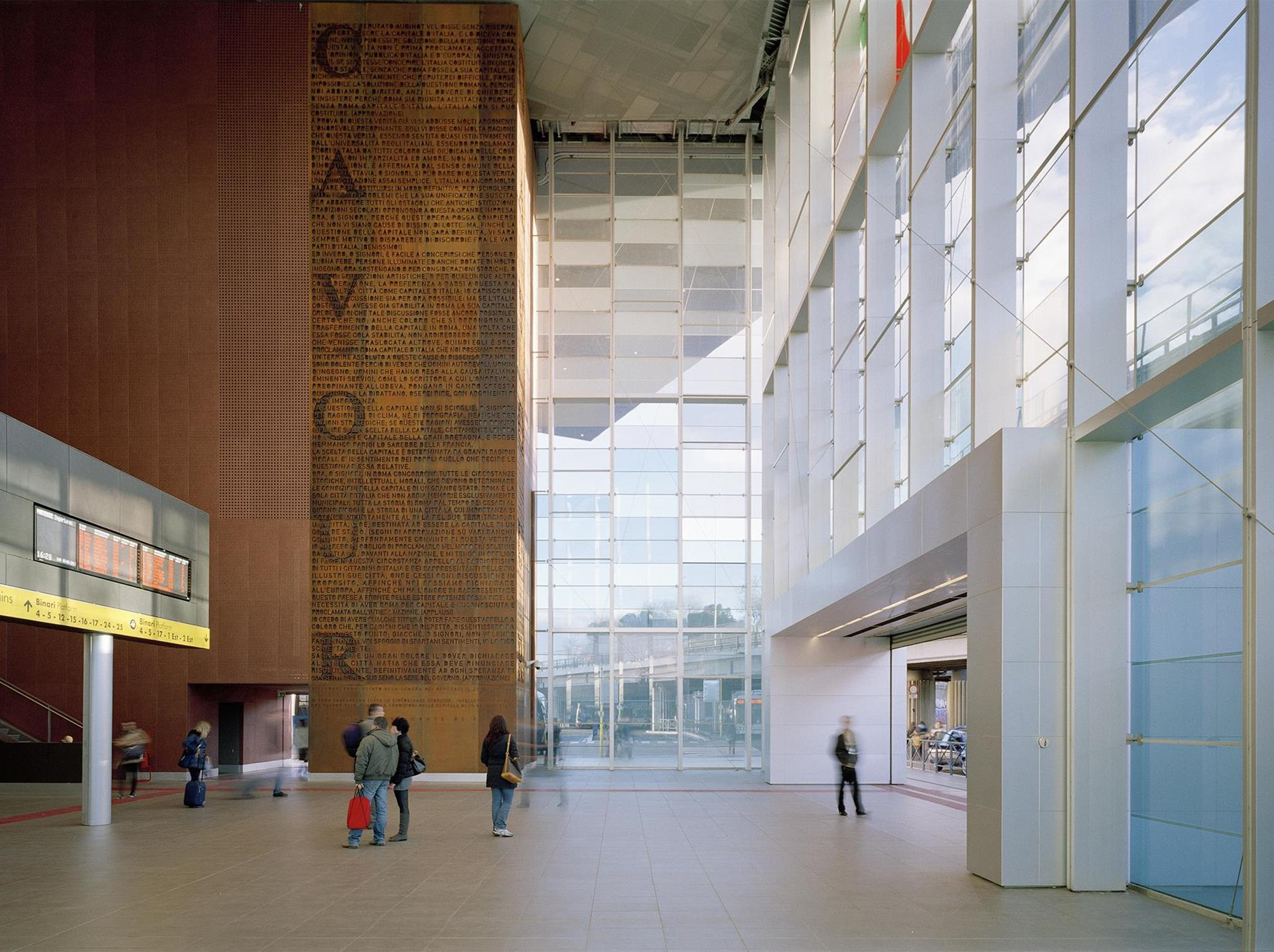 Roma Tiburtina Railway Station: Photo 1