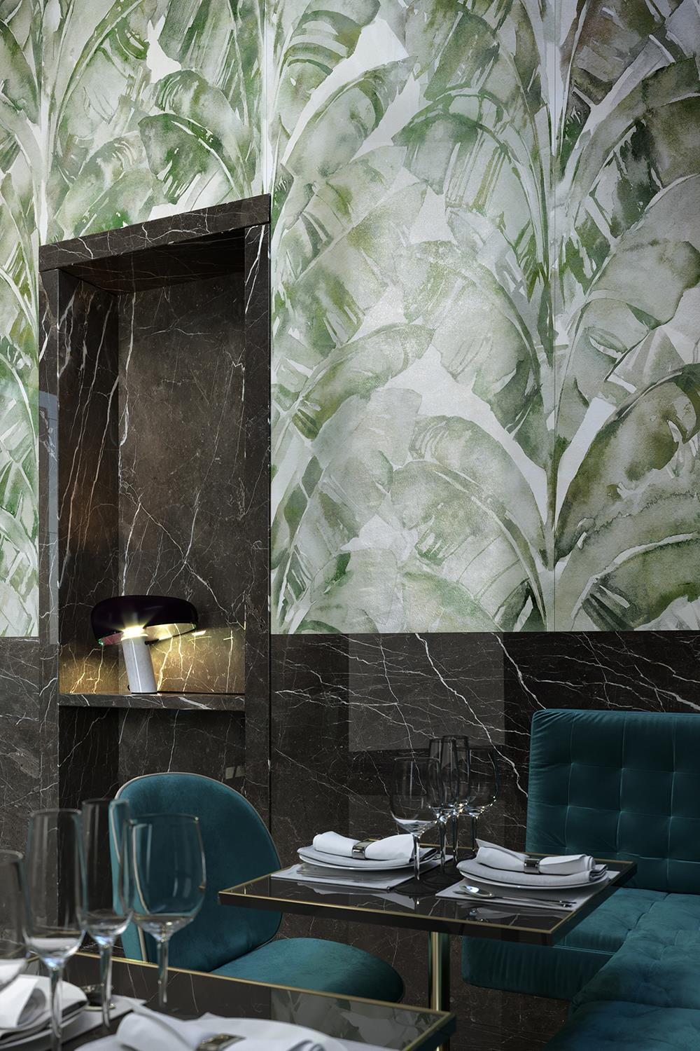 Cotto d'Este innovatively reinterprets wallpaper with ultra-thin ceramic slabs: Photo 3