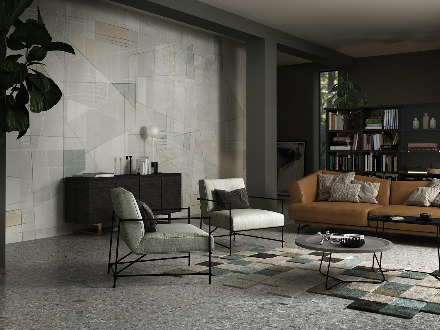 Cotto d'Este innovatively reinterprets wallpaper with ultra-thin ceramic slabs: Photo 4