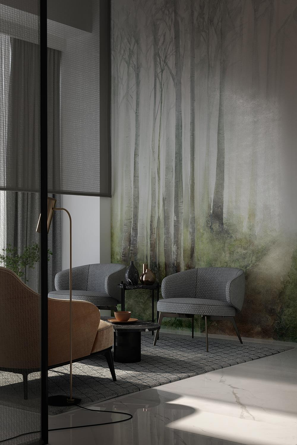 Cotto d'Este innovatively reinterprets wallpaper with ultra-thin ceramic slabs: Photo 1